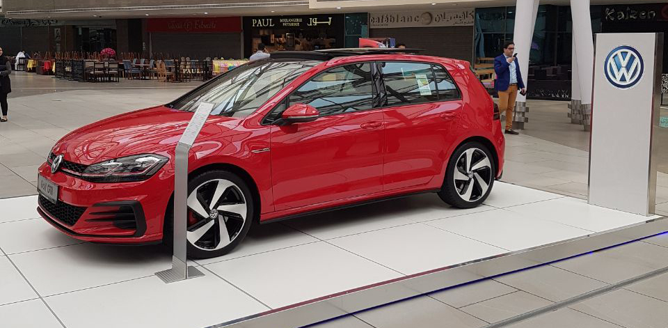 The launch of the new Golf GTI