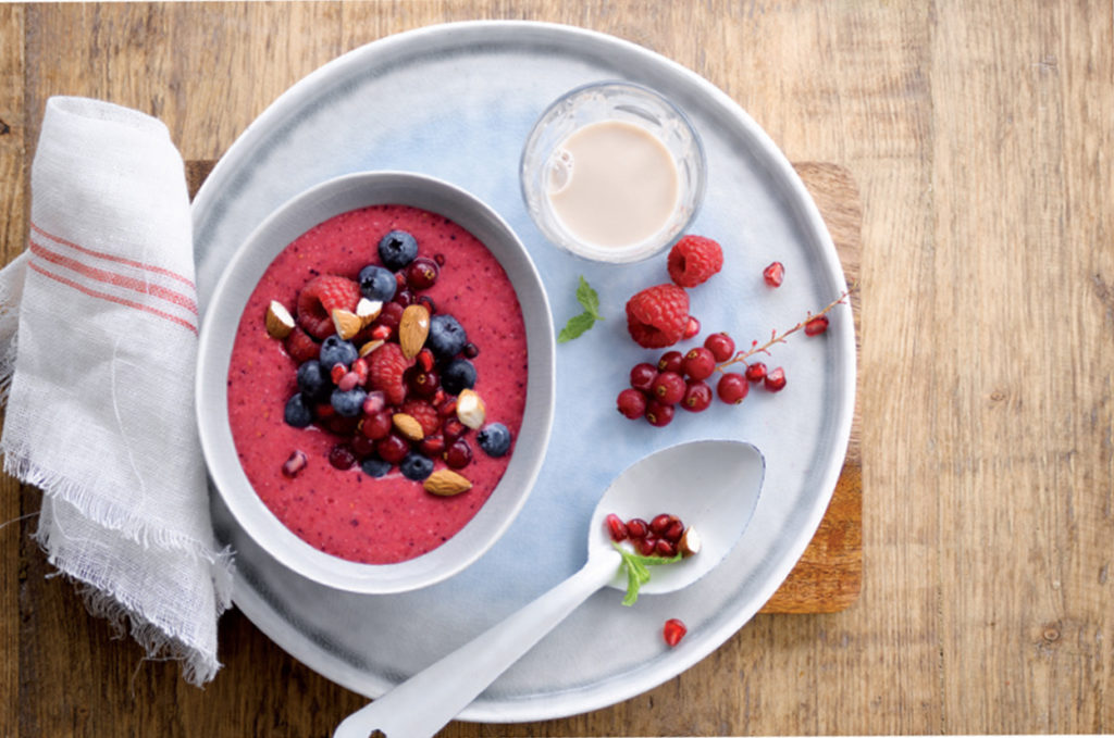 A Berrylicous Smoothiebowl