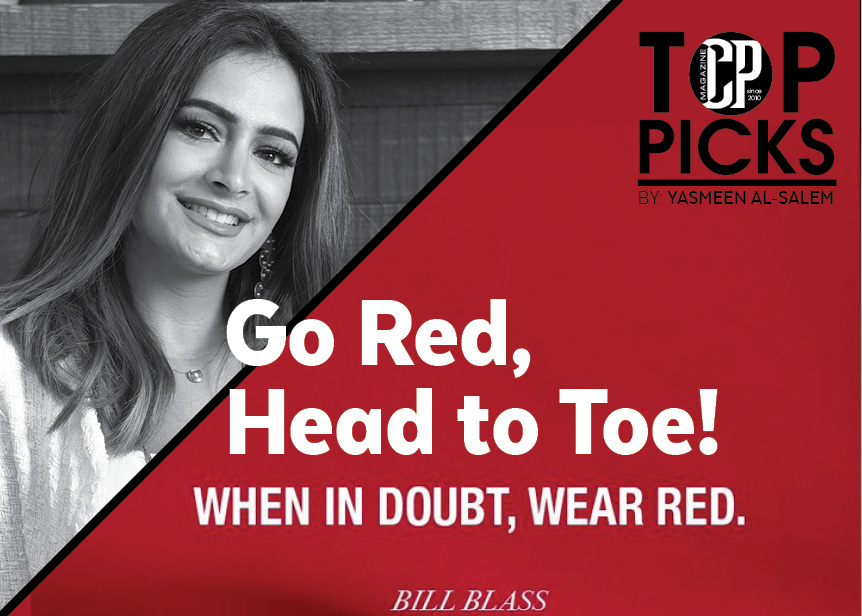 Go Red, Head to Toe!