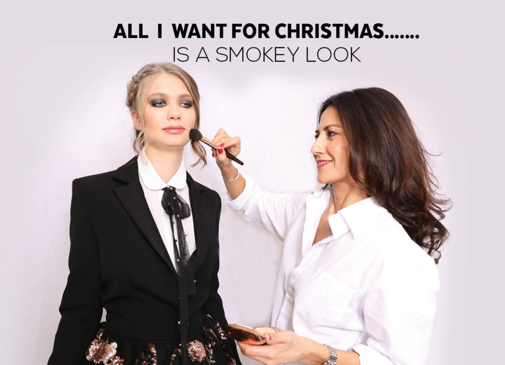 ALL  I  WANT FOR CHRISTMAS…….IS A SMOKEY LOOK