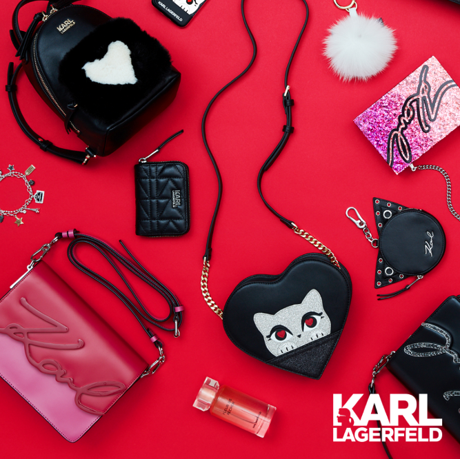 Karl Lagerfeld Introduces Valentine's Day 2018 Offering