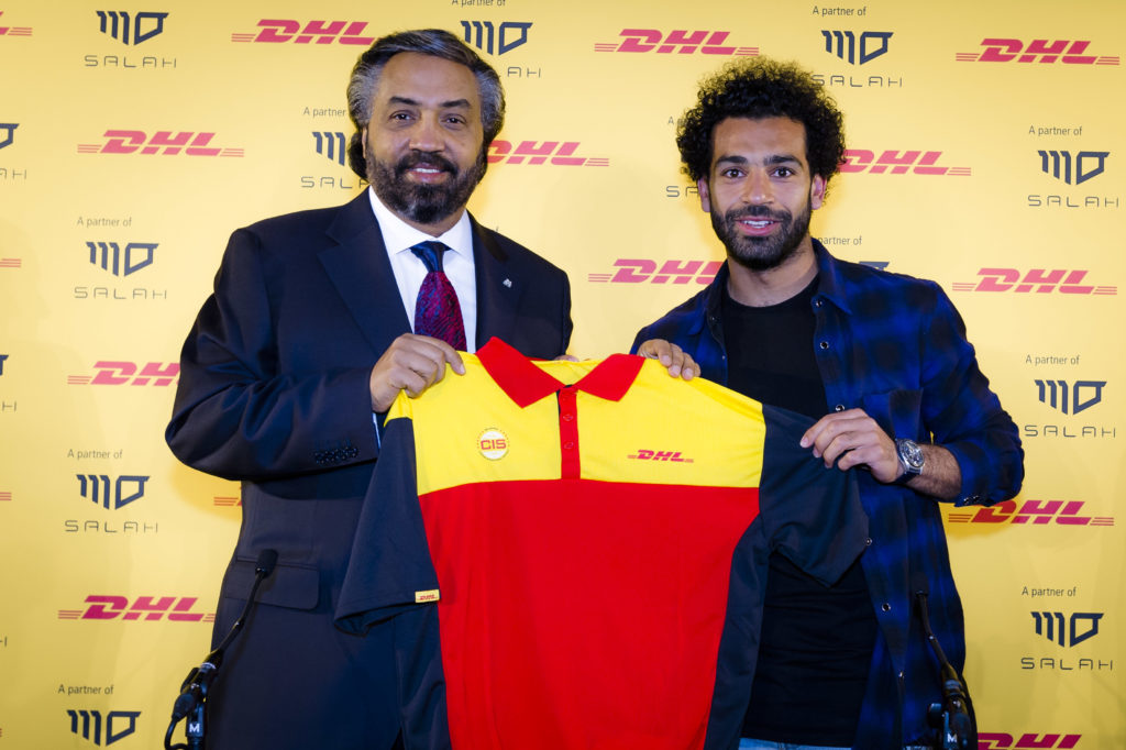 DHL Express Announces Egyptian Football Superstar Mohamed Salah as Brand Ambassador for the MENA Region