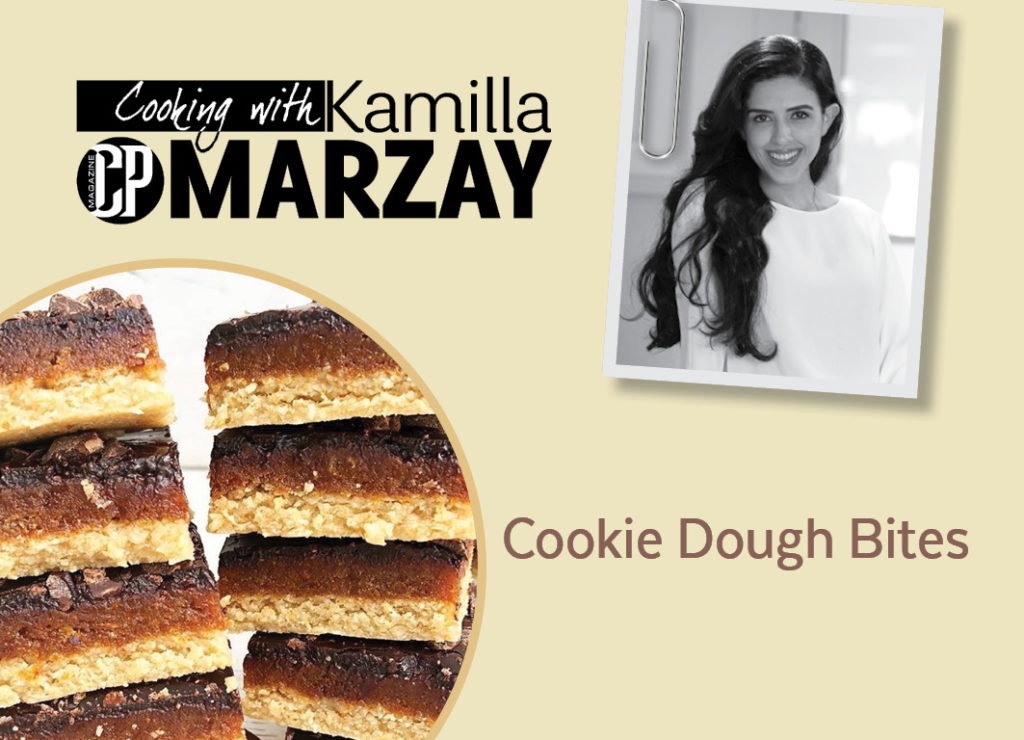 Cooking With Kamilla Omarzay – Cookie Dough Bites