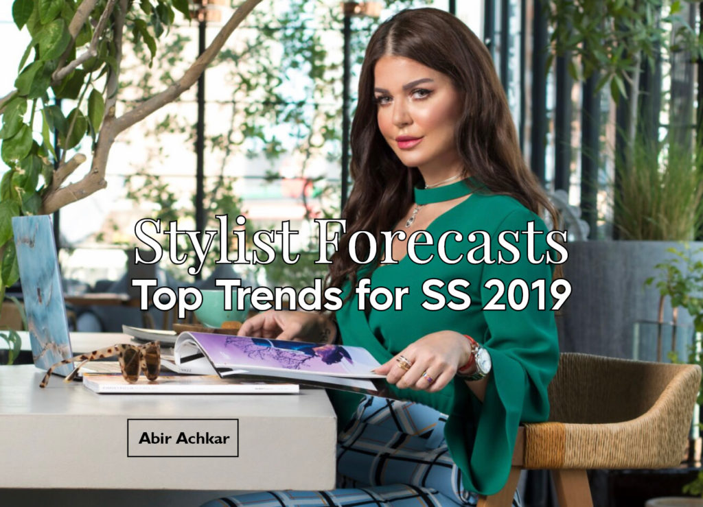 Stylist Forecasts – Top Trends for SS 2019