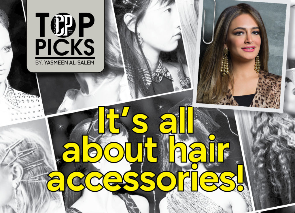 It's all about hair accessories!