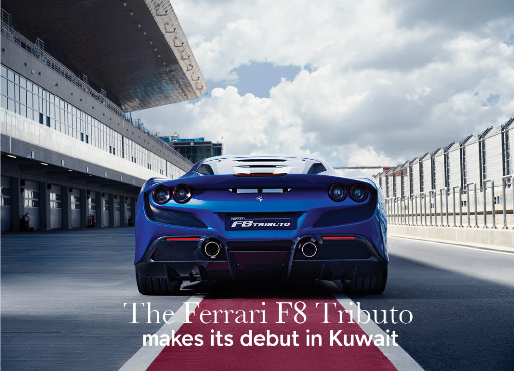 The Ferrari F8 Tributo makes its debut in Kuwait