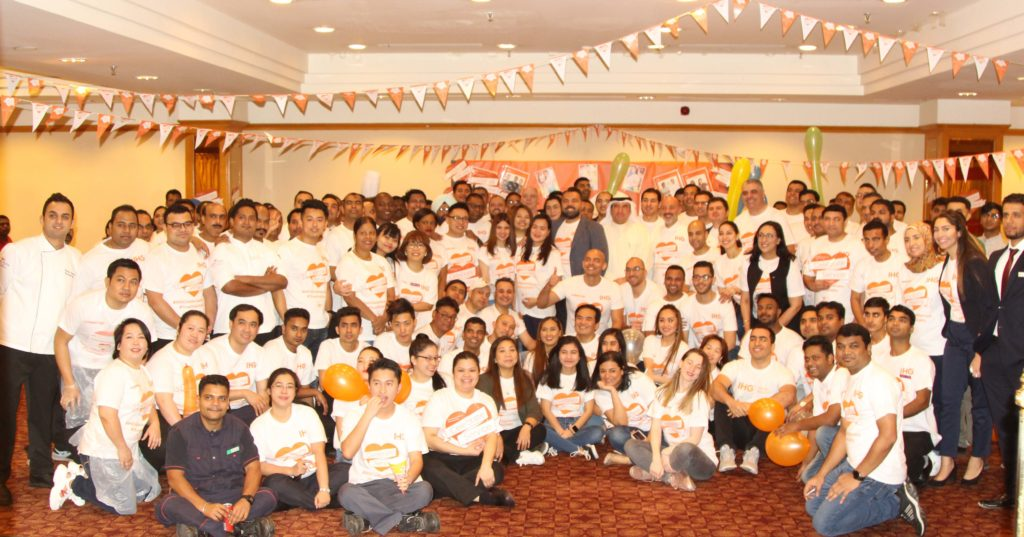 Crowne Plaza and Holiday Inn Kuwait Al Thuraya City Celebrated Service Week at Its Best.