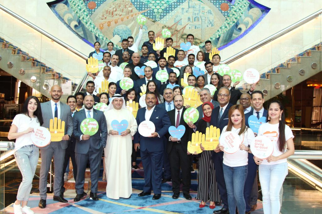 Crowne Plaza & Holiday Inn Kuwait Al Thuraya City Celebrated the #GivingforGood at its Best