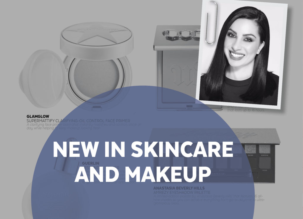 NEW IN SKINCARE AND MAKEUP