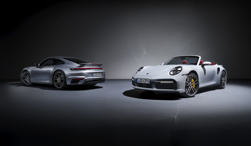 World premiere: The new Porsche 911 Turbo S