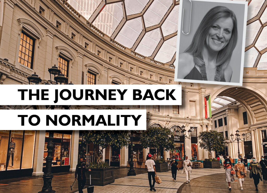 THE JOURNEY BACK TO NORMALITY