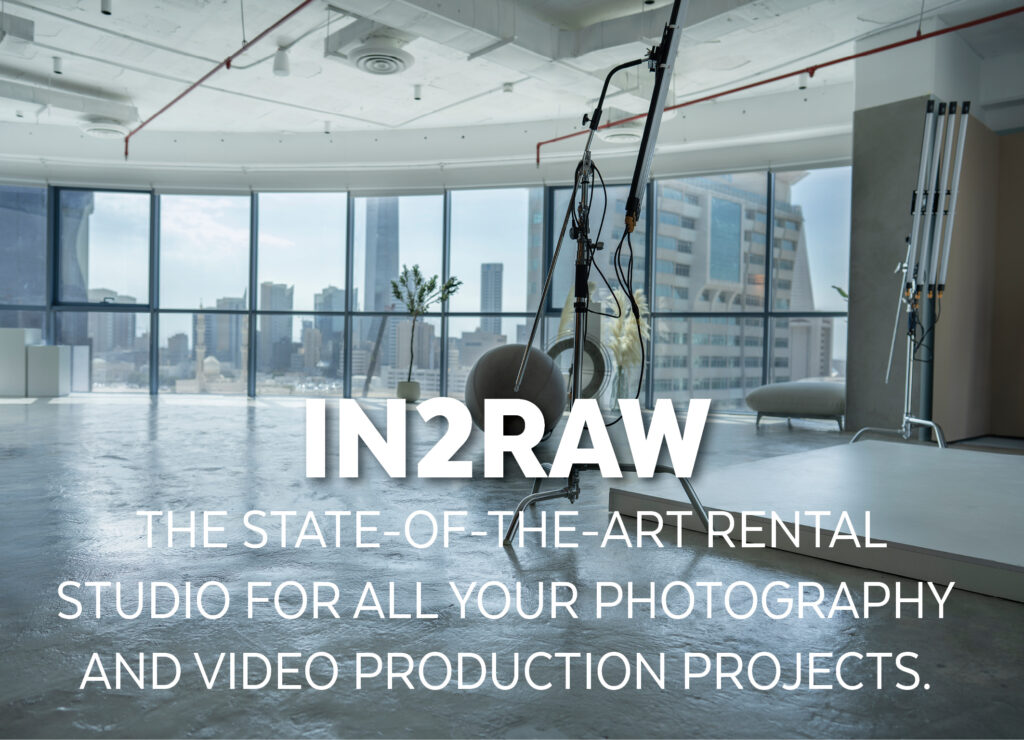 In2Raw – The state-of-the-art rental studio for all your photography and video production projects.