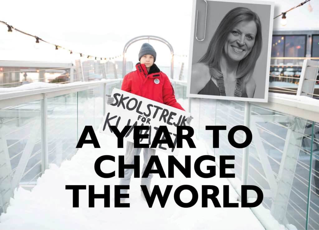 A YEAR TO CHANGE THE WORLD