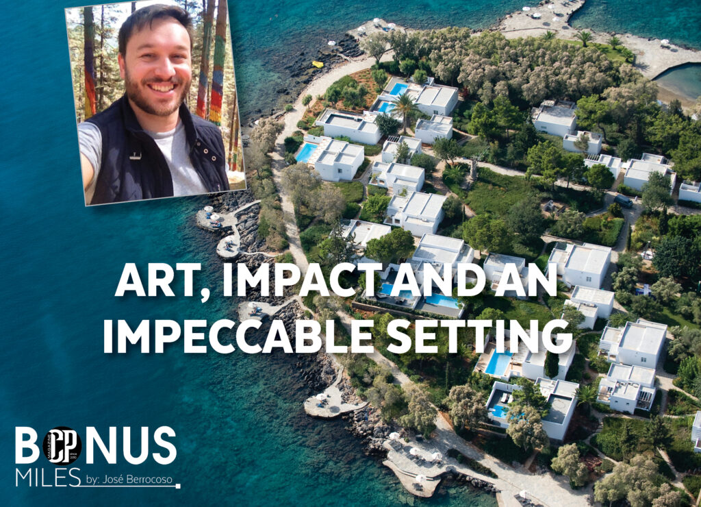 ART, IMPACT AND AN IMPECCABLE SETTING